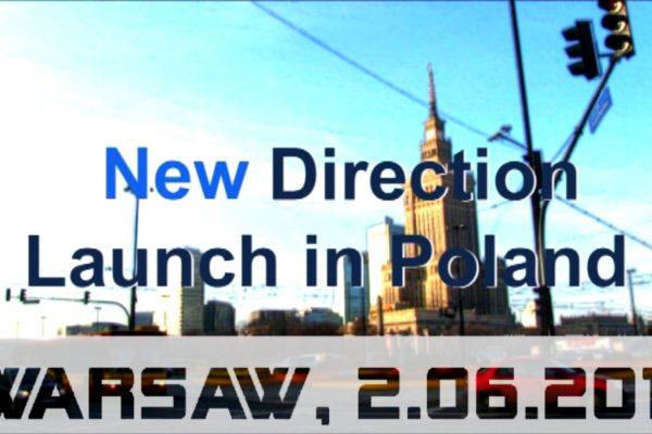 """""""New Direction"""" w Polsce."""